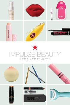 Hey beauty gurus, this one's for you! Visit macys.com for the launch of our new Impulse beauty brands like Wrinkles Schminkles, Amopé, Buxon, NYX, Nudestix & PMD—shop now!