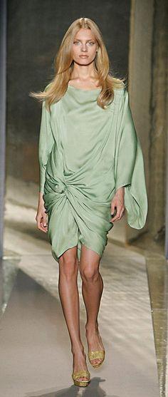 donna karan ss09 green-with-envy