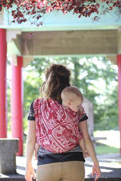 #artipoppe Made in China, Jin #wovenwraps #babywearing
