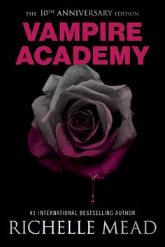 #CoverReveal: Vampire Academy - Richelle Mead, 10th anniversary edition