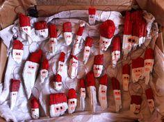 Driftwood. Christmas tree decorations