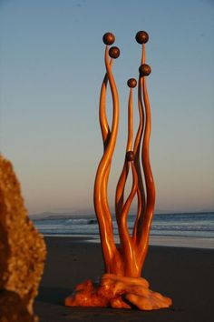 Driftwood sculptures by Jeffro Uitto