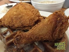 Auntie April's: Rise & Shine For Chicken & Waffles — Mamas Guide