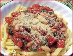 Penne With Cannellini Beans | Genius Kitchen
