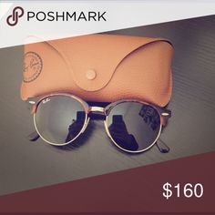Ray Ban Clubmaster Round Club master round sunglasses - tortoise shell design bridge and arms Ray-Ban Accessories Sunglasses