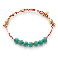Turquoise Precious Threads Bracelet   ALEX AND ANI