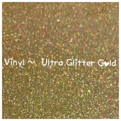 Gold Glitter Adhesive Craft Vinyl, Ultra Glitter, 2 Mil High Performance, Glitter Vinyl, Decal Vinyl, Scrapbooking, DIY Wedding Decor by LiveLaughLoveOcean on Etsy