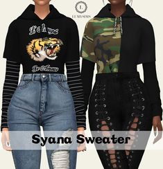 Syana Tucked in Sweater - Lumy-sims