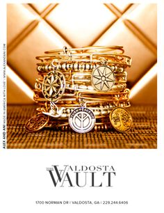 Alex and Ani is now at The Valdosta Vault! Come see all our bangle collections!