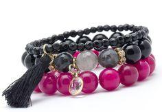 Wristbands & Bracelets – Set bracelets JF66 – a unique product by Blackif on DaWanda