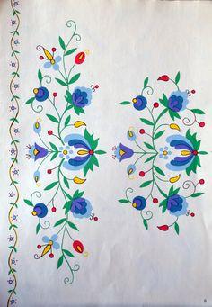 Folk Embroidery, Hand Embroidery Designs, Cross Stitch Embroidery, Embroidery Patterns, Cross Stitch Patterns, Scandinavian Quilts, Folklore, Polish Folk Art, Arte Popular