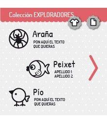 Sello ropa, Colección Exploradores