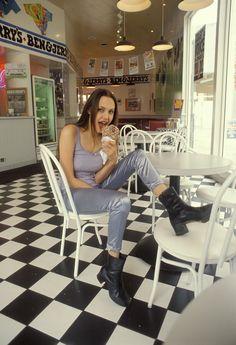 A young goddess, Angelina Jolie