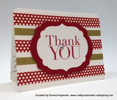 The boys always make Thank You cards for their Christmas presents.  Something simple like this would be perfect!