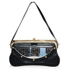 Fendi Small Black Mirrored Framed Bag http://www.consignofthetimes.com/product_details.asp?galleryid=6777