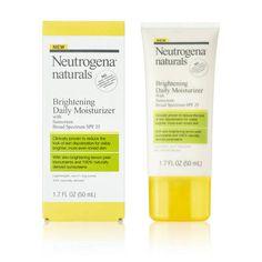Neutrogena® Naturals Brightening Daily Moisturizer SPF 25 - 1.7 oz : Target