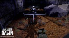 Im späteren Spielverlauf haben wir auch Zugriff auf andere Vehikel, wie diesen bewaffneten Helikopter. (Apocalypse Dawn) #apocalypsedawn #zombies #survival #survivalgame