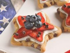 Easy 4th of July Cookie Dessert