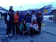"Il ""Brontozauri-ski team""!"