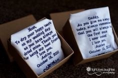 sweet gifts to give to your parents on your wedding day