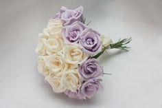Цветы из бумаги. Свадебные букеты Flower Decoration