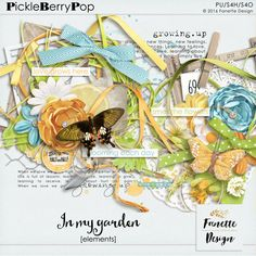 In my garden {elements} by Fanette Design