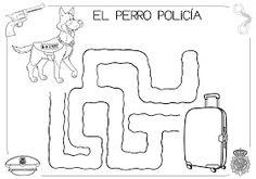 Mi grimorio escolar: LOS PERROS POLICÍAS
