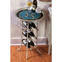 #10: Sand Metal Bottle Table.