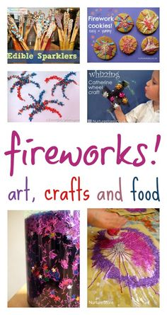 Fabulous firework art and terrific tasty treats to celebrate with your nail art cake wedding Bonfire Night Activities, Craft Activities For Kids, Crafts For Kids, Fireworks Cake, Wedding Fireworks, New Year's Eve Crafts, July Crafts, Firework Nail Art, New Year's Eve Celebrations