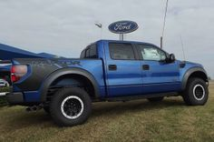 Lifted Ford Raptor 6.2   Ford Raptor Lifted Blue