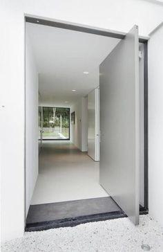 pivoting framless door - Google Search