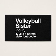volleyball sister t-shirts business card Custom Office Retirement Volleyball Room, Volleyball Jokes, Volleyball Motivation, Volleyball Party, Volleyball Setter, Volleyball Training, Volleyball Outfits, Volleyball Drills, Coaching Volleyball