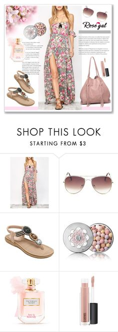 """""""Rosegal 40."""" by ruza-b-s ❤ liked on Polyvore featuring Guerlain, Victoria's Secret and MAC Cosmetics"""