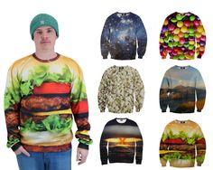 MAD TRØJER! #foodjunkies #Burger #weird