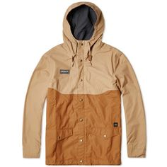 Buy the Adidas Spezial ETA Anoraak in Hemp & Timber from leading mens fashion retailer END. - only Fast shipping on all latest Adidas products Off White Long Sleeve, Adidas Spezial, Casual Art, Football Casuals, Personal Style, Casual Outfits, Mens Fashion, Hoodies, Hemp