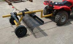 J Bar ATV attachments Garden Tractor Attachments, Atv Attachments, Metal Projects, Welding Projects, Quad Trailer, Homemade Trailer, Atv Trailers, Small Tractors, Tractor Implements