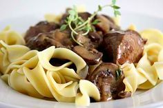 Steak Tips With Peppered Mushroom Sauce Recipe