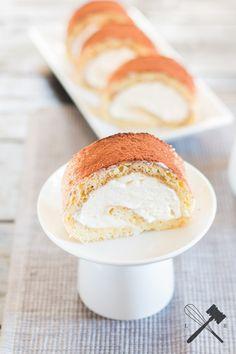Tiramisu Roulade - Ein klein wenig Italienflair? - Law of Baking