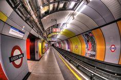 The Tube by peter blazek, via London Underground Train, London Underground Stations, London Transport, London Travel, England Uk, London England, Train Station Clock, Performance Inspired, Vintage London