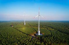 La primera turbina híbrida eólica – hidráulica que quiere revolucionar la energía renovable.