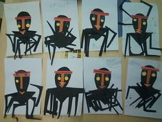 Anansi art project