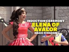 VIDEO: Watch Elena of Avalor's Royal Induction Ceremony at Walt Disney World's Magic Kingdom!   Inside the Magic