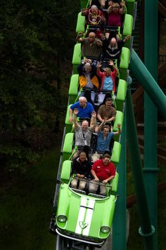 Verbolten Day at Busch Garden in James City Co.  The new ride opened today during the media day in the park. (Joe Fudge / May 16, 2012)