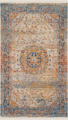 Safavieh Vintage Persian VTP435B (Blue, Multi)