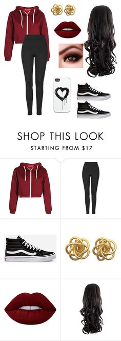 """""""Untitled #59"""" by paigevjacobs on Polyvore featuring Topshop, Vans, Lime Crime and Zero Gravity"""