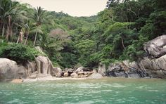 secluded beach wedding location