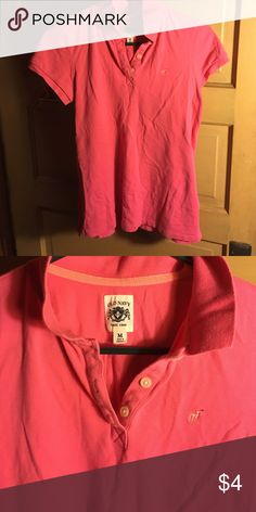 Pink golf shirt Old Navy pink golf shirt M Old Navy Tops Button Down Shirts