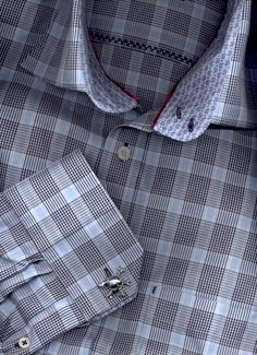 French Cuff Dress Shirts - Mens French Cuff Shirts Large Sizes, Mens Dress…