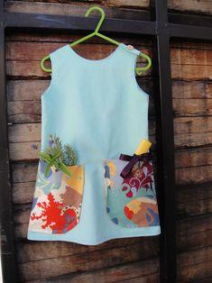 Pocket dress - I think I'd like to bounce off of this idea and make a dress