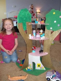 Make a Tree House Comments | Homemade Doll Crafts | FamilyFun